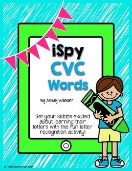 iSpy CVC Words {Short a}
