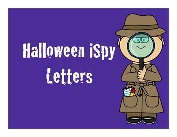 iSpy Halloween Letters
