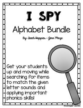 iSpy Letter Sound Pack