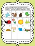 iSpy Nature Work Sheet
