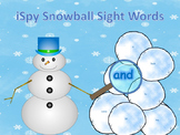 iSpy Snowball Sight Words