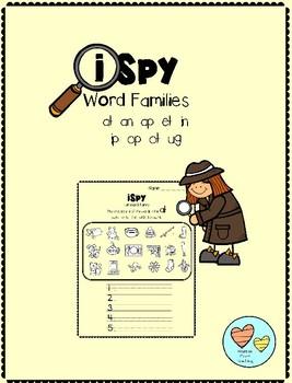 iSpy Word Famlies