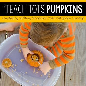 Homeschool Preschool Pumpkin Unit