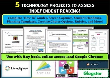 Five Technology Reading Projects to Assess Independent Reading