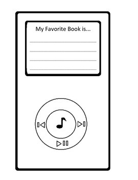 iTune into Reading Bulletin Board Set & Writing Assignment. iPod Books
