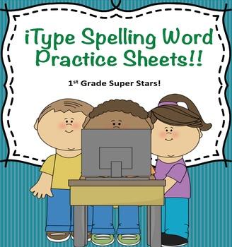 iType Editable Spelling Words
