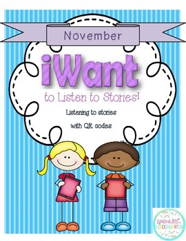 iWant to Listen to Stories:  November