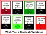 iWish You a Musical Christmas Bulletin Board Kit