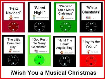 iWish You a Musical Christmas Bulletin Board Kit
