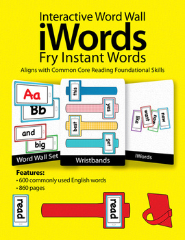 iWords - Fry Instant Words {High Frequency} (Aligns with C