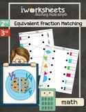 iWorksheets Equivalent Fraction Match Worksheets