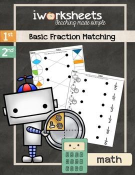 iWorksheets Fraction Match Worksheets