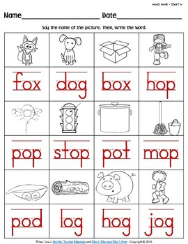 long vowel o worksheet | Alphabet activities | Pinterest | Long ...