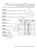 iXL Assignment Sheet for Suffix -ful