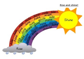 i_e rise and shine phonics game