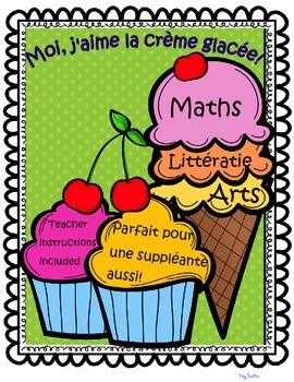Math, Reading & Art Pack ~ French