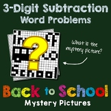 Back to School 3-Digit Subtraction Word Problems