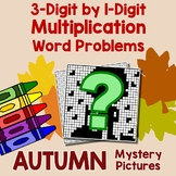 Fall 3-Digit by 1-Digit Multiplication Word Problems