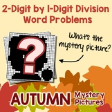 Fall 2-Digit by 1-Digit Division Word Problems
