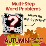 2 Step Addition, Subtraction Word Problems Worksheets, Fall Math 2nd Grade & Up