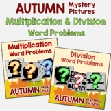 Fall Word Problems Multiplication And Division Fall Activity 3rd Grade, 4th, 5th