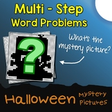 2-Step Word Problems Addition And Subtraction Halloween Math Activities Coloring