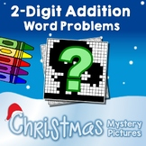 Christmas 2-Digit Addition Word Problems