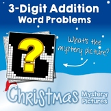 Christmas 3-Digit Addition Word Problems