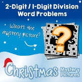 Christmas 2-Digit by 1-Digit Division Word Problems