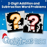 Christmas 2-Digit Addition and Subtraction Word Problems