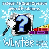 Winter 3-Digit by 1-Digit Division Word Problems