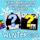 Winter 2-Digit Addition and Subtraction Word Problems