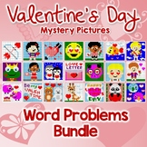 Valentine's Day Word Problems Bundle Word Problems