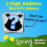 Spring 2-Digit Addition Word Problems