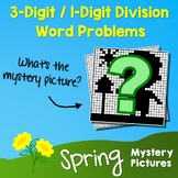Spring 3-Digit by 1-Digit Division Word Problems