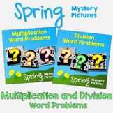 Spring Multiplication and Division Word Problems