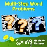 Spring Multi-Step Word Problems