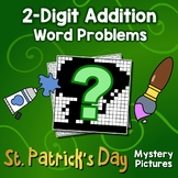 St. Patrick's Day 2-Digit Addition Word Problems