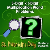 St. Patrick's Day 3-Digit by 1-Digit Multiplication Word Problems