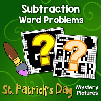 St Patricks Day Subtraction Word Problem Special Education Color Mystery Picture