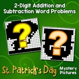 St. Patrick's Day 2-Digit Addition and Subtraction Word Problems
