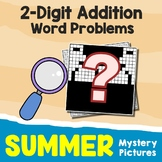 Summer 2-Digit Addition Word Problems