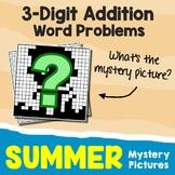 Summer 3-Digit Addition Word Problems