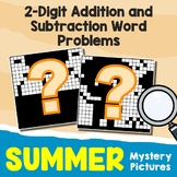 Summer 2-Digit Addition and Subtraction Word Problems
