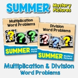 Summer Multiplication and Division Word Problems