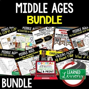 Middle Ages BUNDLE (World History Bundle)