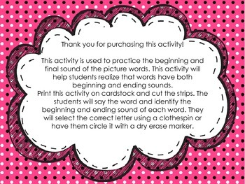 identificando el sonido inicial y final