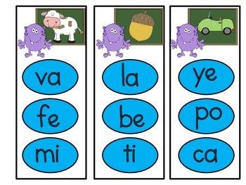 identificando la primera silaba