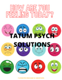 identifying and naming feelings, how are you feeling today?