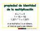 identity property of mult/propiedad de identidad de mult prim 2-way blue/verde